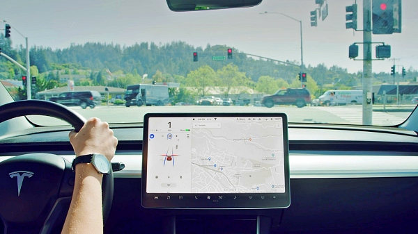 Fully autonomous driving (FSD) function installed in Tesla Model 3 vehicle [Photo: Tesla]