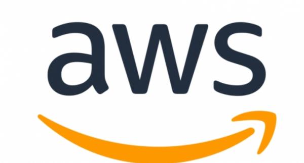 아마존웹서비스 로고.