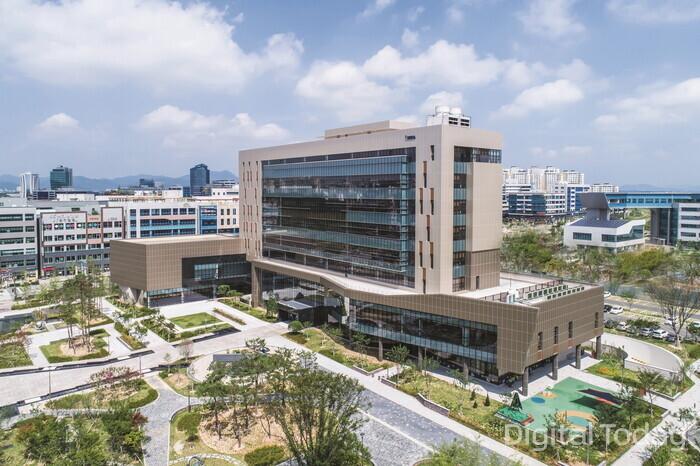 The headquarters of the Korea Internet & Security Agency (KISA) located in Naju, Jeollanam-do [Photo: Korea Internet & Security Agency]