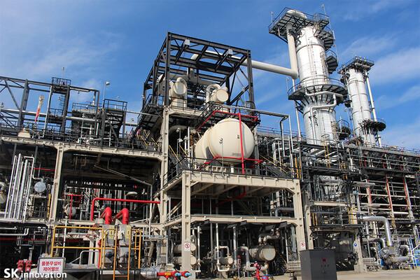 SK innovation Ulsan UAC plant (Photo SK innovation)