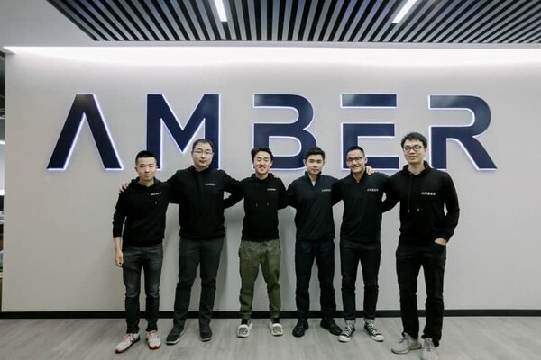 Amber Group co-founders. [Photo: Amber Group]